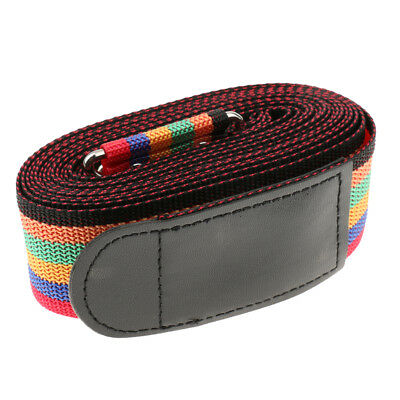 Travel Luggage Password Suitcase Secure Lock Nylon Packing Strap Belt