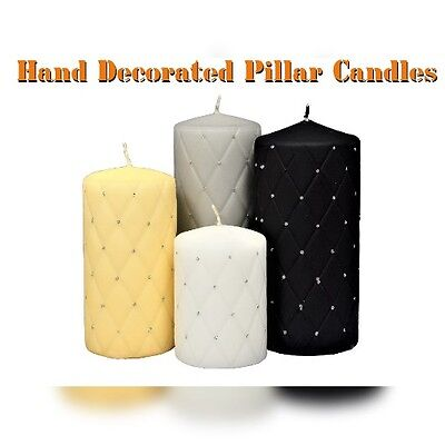 Handmade Candles ! Glitter Decorated ! Stylish Gift for any Occasion
