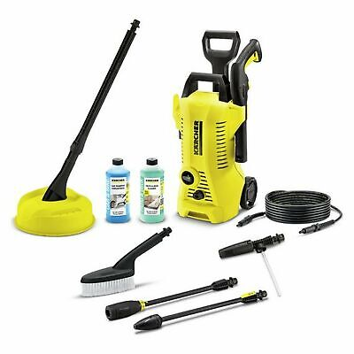 Karcher K2 Full Control 1400W 110 Bar Car & Home Pressure Washer With T150 Patio