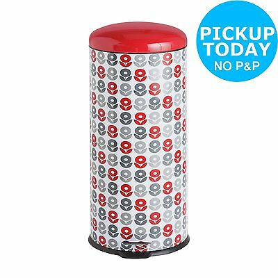 Salter 30 Litre Pedal Bin - Dexie Metal. From the Official Argos Shop on ebay