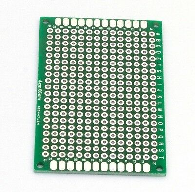 Double Sided 6x4 Printed Circuit Board PCB Prototype TK Breadboard Bread Board