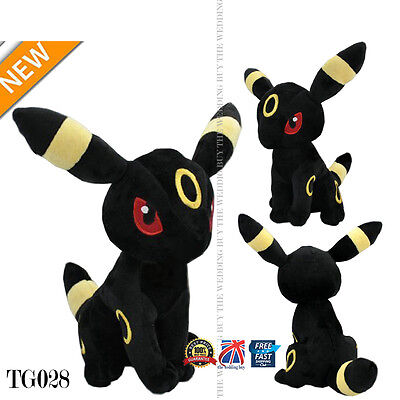 "Pokemon Plush Soft Figure Toy Umbreon Doll (Size L Large) Around 30cm 12"" TG028"