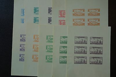LEBANON INDEPENDENCE  SETS OF PROOFS 163-6+C82-7,mint