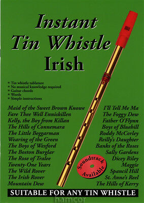 Instant Tin Whistle Irish Learn How to Play Tinwhistle Tunes Sheet Music Book