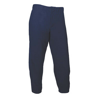 Soffe Intensity Premium Softball Pant N5305 Low Rise Navy Women's Large