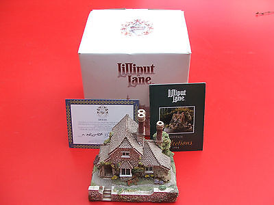 Lilliput Lane Cottage Vine Cottage 1990 box and deeds