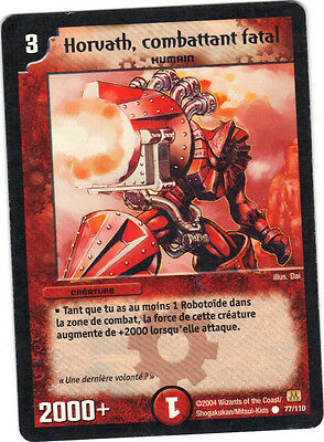 Duel Masters n° 77/110 - Horvath, combattant fatal