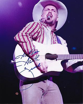 Garth Brooks autographed 8x10 #2 Free Shipping