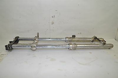 Honda CR125 Forks Triple Tree Front Axle 1983