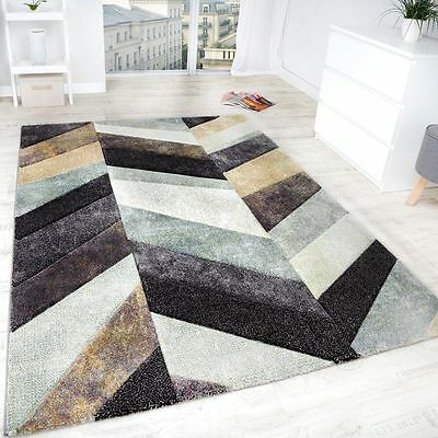 Small Large Rug Carpet Modern Classic Design Rugs Grey Beige Multi Colour Mats
