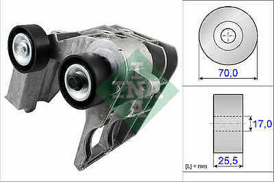 FORD KA 1.3 Aux Belt Tensioner 02 to 08 534046710 Drive V-Ribbed INA 1149701 New