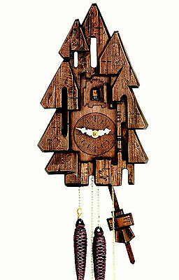 Hubert Herr,  new 1 Day weight  driven cuckoo clock with a difference.