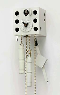 Hubert Herr,  Black Forest new 1 Day weight  driven cuckoo clock ( The dice ).