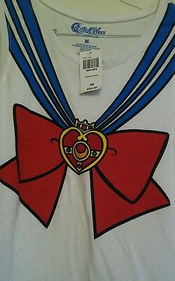 Sailor moon manga MED Sleeveless T-shirt NWT