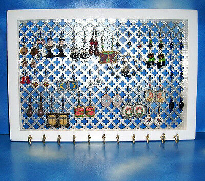 Decorative Jewelry Organizer Holder Earring Necklace Bracelet Display Wall Mount