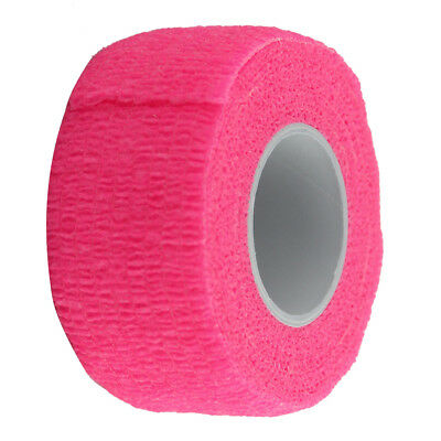 Sports Elastic Cohesive Bandage 4.5m Tape First Aid Strapping Band Wrap Pink