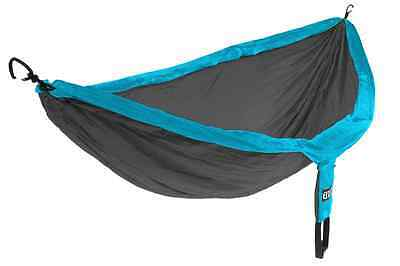 Eagles Nest Outfitters ENO DoubleNest Hammock Teal/Charcoal
