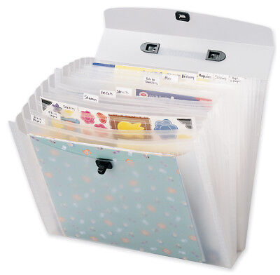 "Memory File Expandable Storage Case-12""X12"""