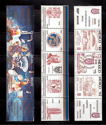 Mexico Lot 22 Stamps Mint Nh $31.50 !!