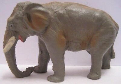 Old 1920s Toy Composition Wild Elephant for Zoo or Jungle - Austria