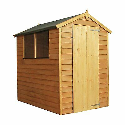 Mercia Overlap Apex Wooden Garden Shed - 6 x 4ft -From the Argos Shop on ebay