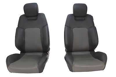 VE SS Seat Package Holden Commodore Front Perforated Leather Black 92148551 Used