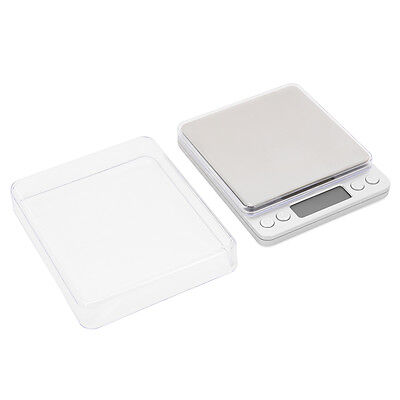 Electronic LCD Scale Weight 500g-0.01g Digital Weigh Gold Jewelry Kitchen TE416