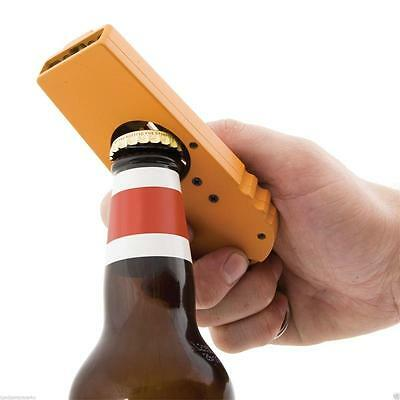 Hot Cap Zappa Bottle Opener and Cap Launcher Key Chain Spinning Hat