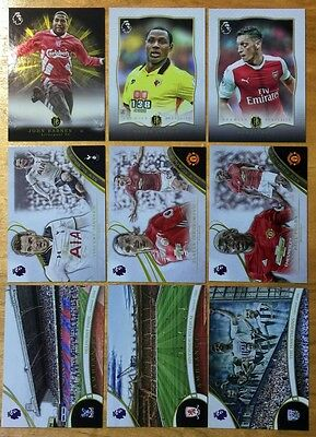 TOPPS PREMIER GOLD 2016 INSERT Premier Portraits,NS,Ambiance,Brilliance of Pitch