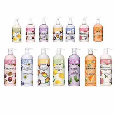 CND Lotion Hand and Body Scentsations Lotions. Size 8.5oz and 31oz. Your Choice.