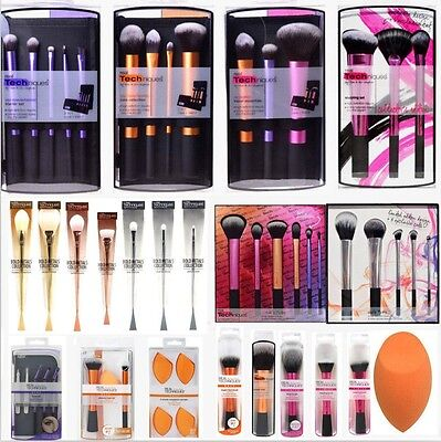 Fashion Real Techniques Brushes Sponges Kit Hot Beauty Makeup Tool Brushes Set