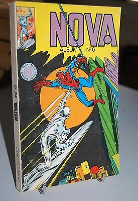 NOVA ALBUM N°6 Marvel LUG. 1979/1980 234R3