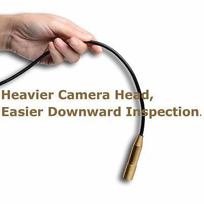 USB Endoscope Inspection Camera Borescope 4 LED Waterproof Metal 7M/23 Ft Cable