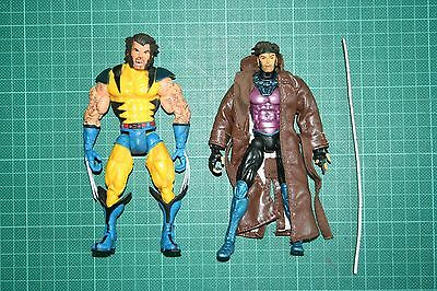 Marvel Legends Gambit Wolverine X-Men Box Set Toy Biz Variant Two Pack Loose