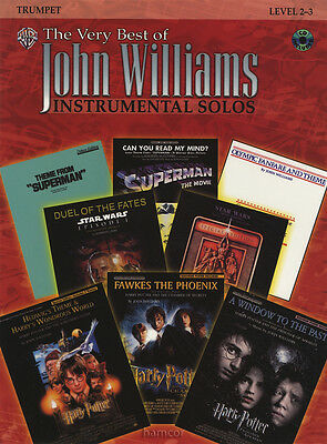 The Very Best of John Williams Trumpet Sheet Music Book/CD Harry Potter