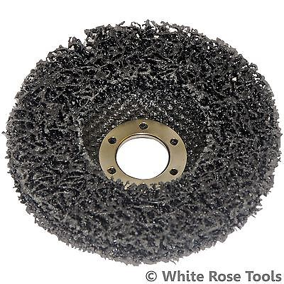 Silverline 100, 115 Or 125mm Polycarbide Abrasive Disc Angle Grinder Paint Rust