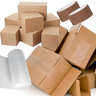 NEW 20 X LARGE DOUBLE WALL Cardboard House Moving Boxes - Removal Packing box