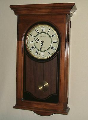 """Howard Miller Wall Clock, Model 613-164, """"Orland"""", Westminster Chimes"""