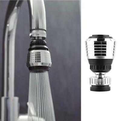 Stainless 360 Rotate Swivel Faucet Nozzle Torneira Water Filter Adapter Water