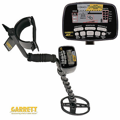Garrett AT Gold Metal Detector - Waterproof, Fast & Very Sensitive