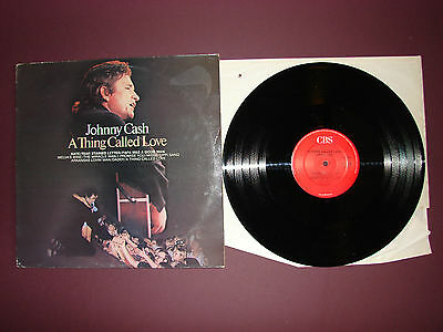 Johnny Cash A Thing Called Love LP Vinyl Record 1972 CBS32698A