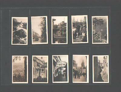 cigarette cards peeps into many lands 3rd FS 1929 full set