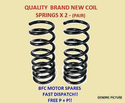 Citroen C3 1.4 1.6 Hdi Front 2 Suspension Coil Springs Pair Hatchback Models
