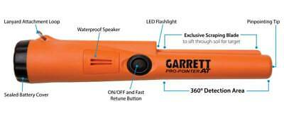 Garrett Pro Pointer AT- Waterproof Electronic Pin Pointer 'The Carrot'
