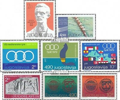 Yugoslavia 1794,1795,1796-98, 1799,1802-03 (complete issue) unmounted mint / nev