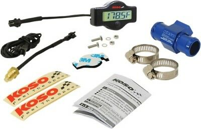 Koso North America Gauge EX-01 Water Temp Meter w/22mm Adapter - BA049400-22