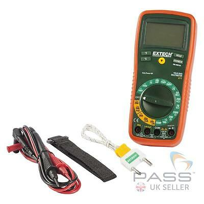 NEW Extech EX411 8 Function True RMS Professional Multimeter / UK Stock
