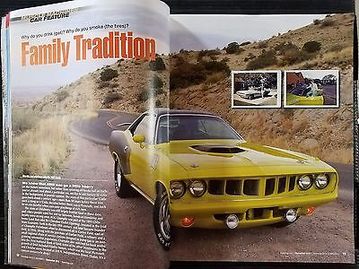 1971 Plymouth Cuda - 6-Page Full Color Original Article - Free Shipping