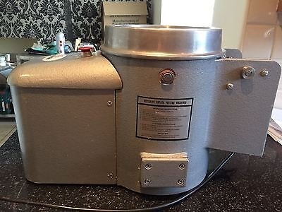 Potato Peeler Rumbler Metcalfe 10lb Excellent Condition Just Regritted FREE P&P