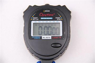Digital Handheld Sports Stopwatch Stop Watch Timer Alarm Counter - SW-N